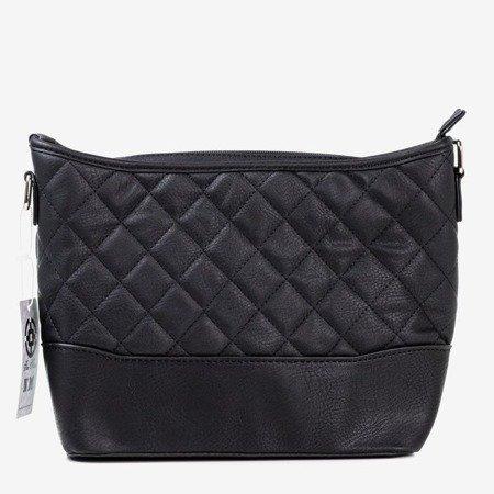 Женская черная стеганая сумка - Сумочки