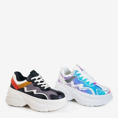 Женские разноцветные туфли на платформе Dabi - Обувь