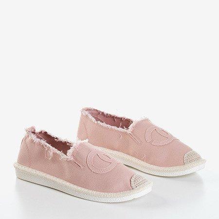 Женские розовые эспадрильи от Elmot - Обувь