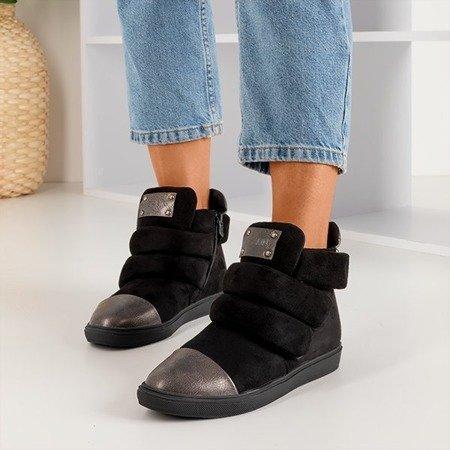 Женские черные кроссовки Emiliose - Обувь