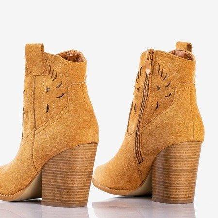 Коричневые ковбойские сапоги a'la на посту Belieu - Обувь
