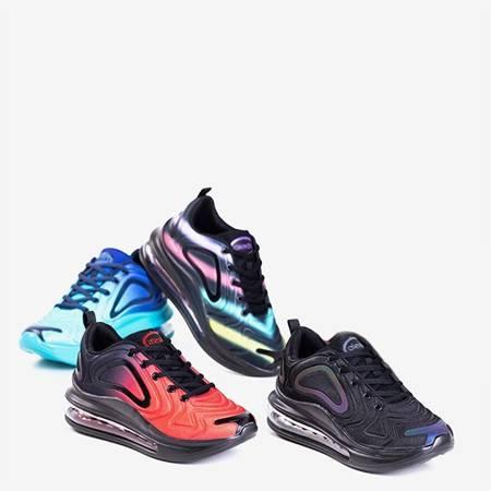 Мужские черные спортивные туфли с прозрачной подошвой Aierda - Обувь