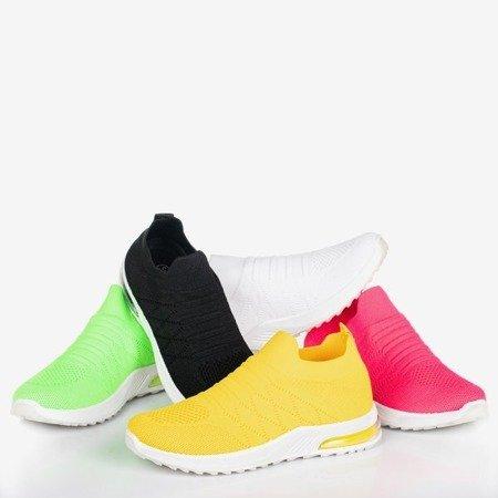 Неоново-зеленые женские спортивные кроссовки - на Brighta - Обувь