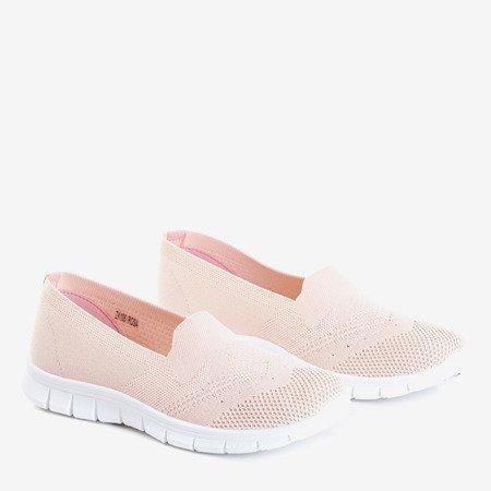 Светло-розовые женские слипоны на Codir - Обувь