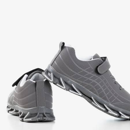 Серые детские кроссовки Fana - Обувь