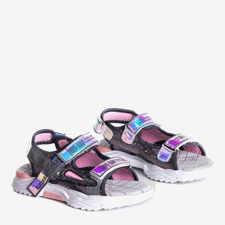 Серые детские сандалии Яси - Обувь
