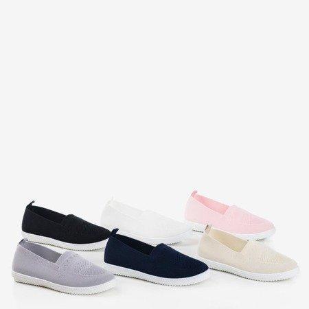 Спортивные слипы Tolva светло-розовые на туфлях Обувь