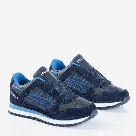 Темно-синие женские спортивные туфли Qatie - Обувь