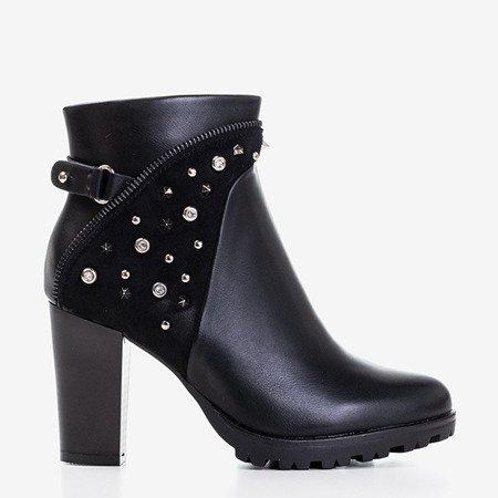 Черные женские сапоги на посту Talita - Обувь