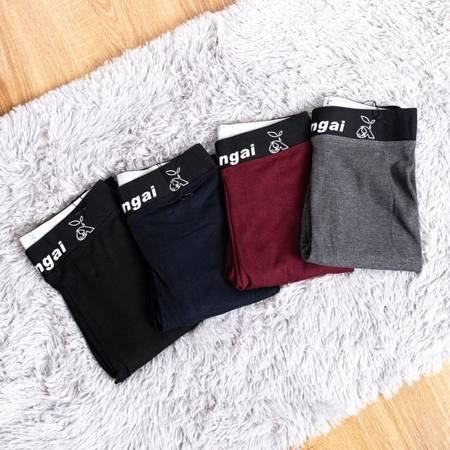 Черные леггинсы из ткани - Одежда