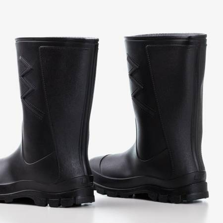 Черные матовые черные резиновые сапоги Taif - Обувь