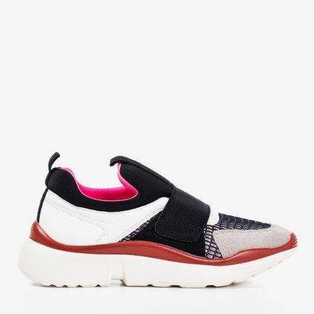 Черные спортивные туфли Mendora с цветными вставками - Обувь