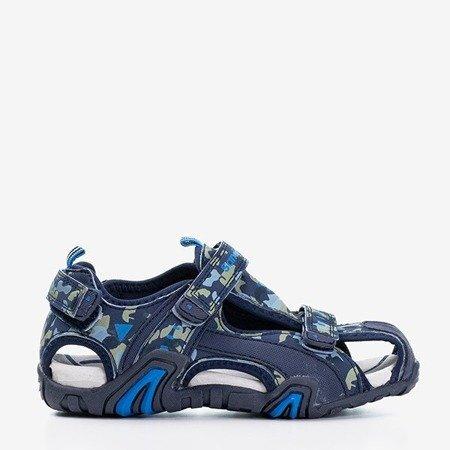 темно-синие камуфляжные сандалии для мальчиков Chester - Обувь
