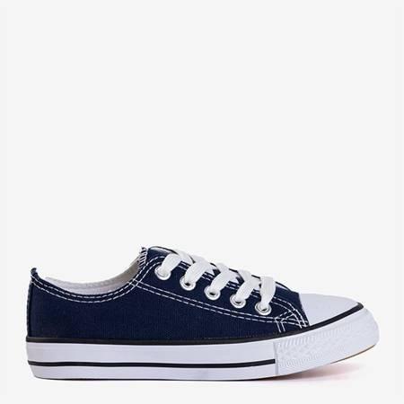 темно-синие мужские кроссовки Ronot - Обувь