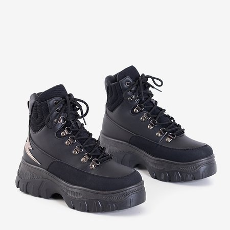 Черная женская спортивная обувь от Froner - Обувь