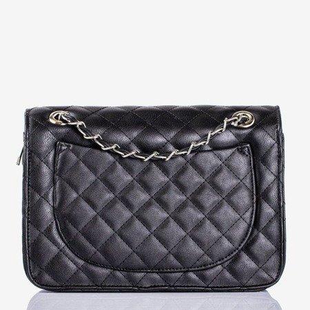 Czarna mała torebka na ramię - Torebki