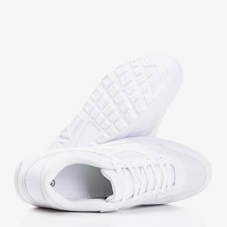 OUTLET Кеды мужские белые Soliak - Обувь