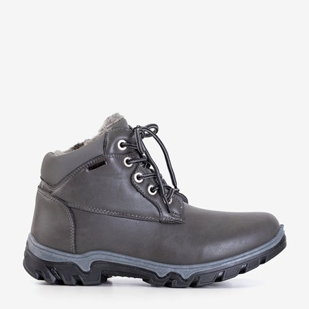Темно-серый женский треккинговый Huran - обувь