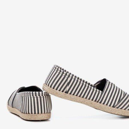 Бежеві еспадрилі з смужками Timsa - Взуття 1