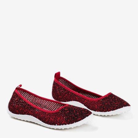 Бургундські жіночі кросівки Mesidla - Взуття 1