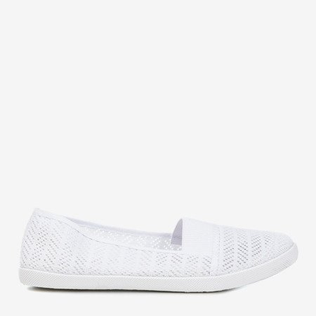 Біла жіноча ажурна накладка - на Heyan - Взуття 1