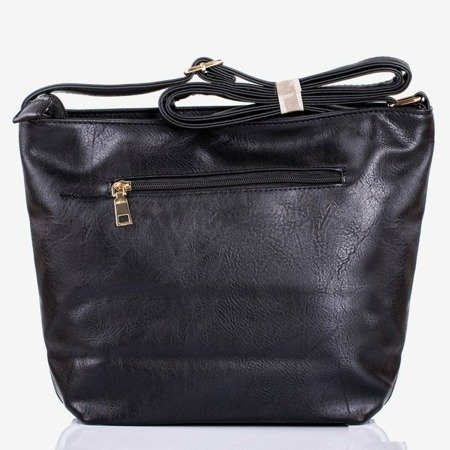 Велика чорна наплічна сумка - Сумочки