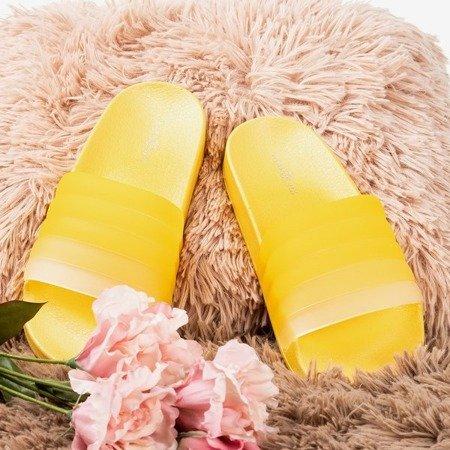 Жовті гумові накладки Nalina - Взуття 1