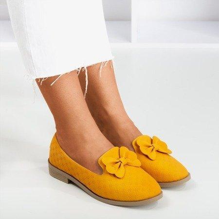Жовті мокасини з бантиком Флавіса - Взуття 1