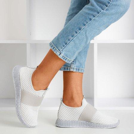 Жіноче спортивне взуття світло-сірого кольору - на Andalia - Взуття