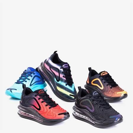 Жіноче чорне спортивне взуття на прозорій підошві Fusion - Взуття