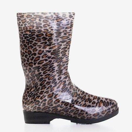 Жіночі дощові черевики Leopard print - Взуття