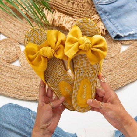 Жіночі жіночі тапочки з бантиком Revda - Взуття