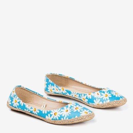 Жіночі сині квіткові балерини Flosta - Взуття