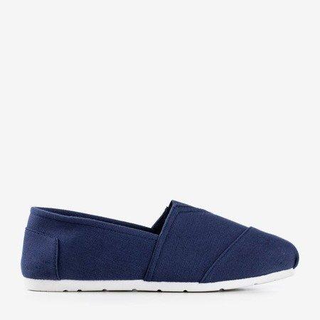 Жіночі сині мокасини типу сліпони Slavarina - Взуття