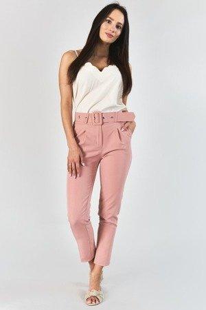 Жіночі штани з рожевим поясом - Одяг 1