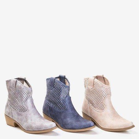 Ковбойські черевики Marsila з кубічним цирконієм - Взуття