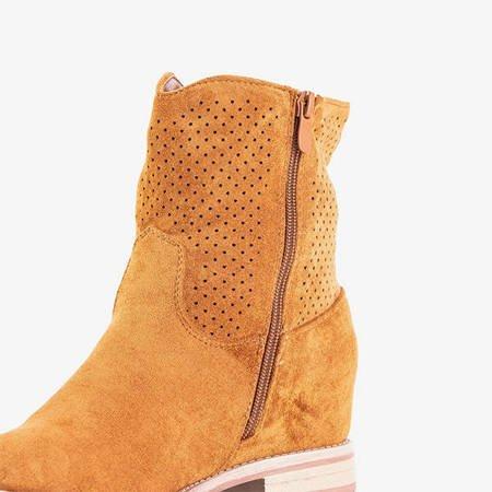 Коричневі типу ковбойські черевики Taize - Взуття