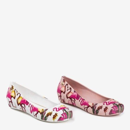 Меліса рожева з принтом фламінго Copteria - Взуття