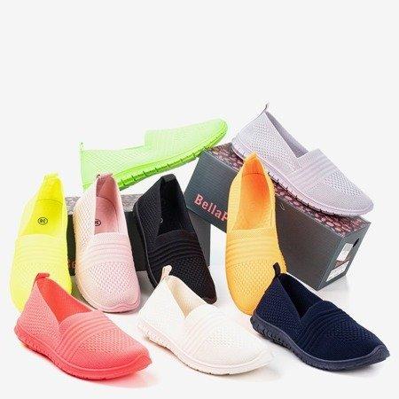 Неонові помаранчеві жіночі кросівки барвисті - Взуття 1
