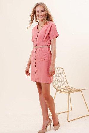 Плаття з коралових ґудзиків - Одяг 1