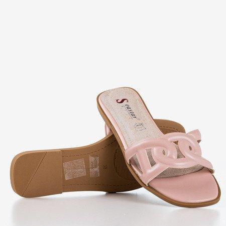 Рожеві жіночі тапочки Вірменська - Взуття 1