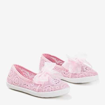 Світло-рожеві дитячі кросівки Натанія - Взуття 1