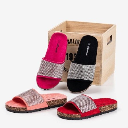 Тапочки Fuchsia для дітей з кубічним цирконієм Procopia - Взуття 1