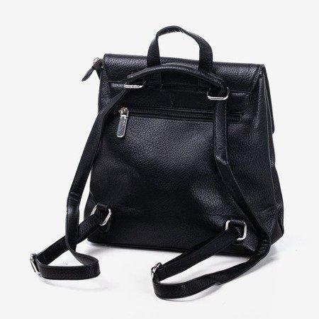 Чорний маленький жіночий рюкзак - Сумочки