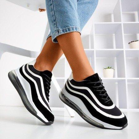 Чорно-білі жіночі кросівки Feel Fantastic - Взуття