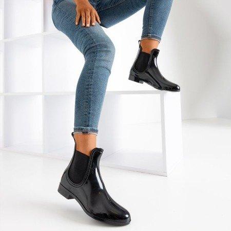 Чорні дощові черевики Daisi - Взуття 1