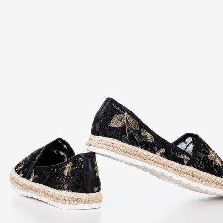 Чорні еспадрилі з прозорою верхньою частиною Summesa - Взуття 1