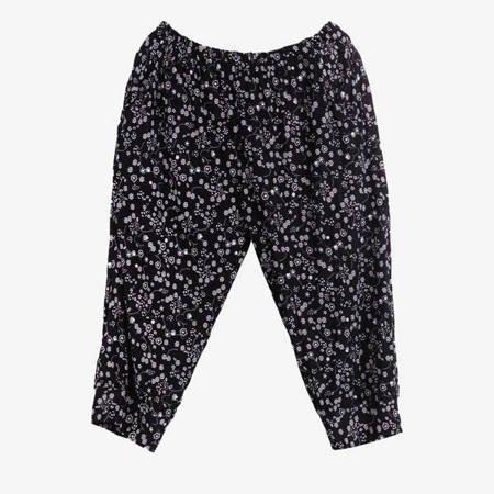 Чорні жіночі штани-рибалки типу рибалок - Одяг 1