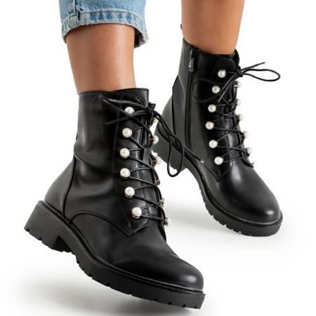 Чорні сумки з перлами Tiree - Взуття