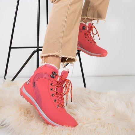 Коралові жіночі утеплені черевики Alfredia - Взуття